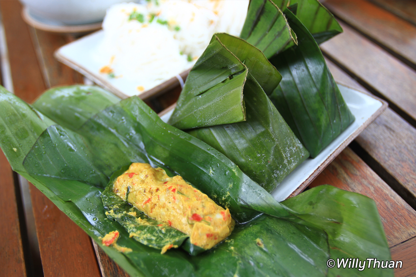 Hor Mok Talay (Fish Mousse)