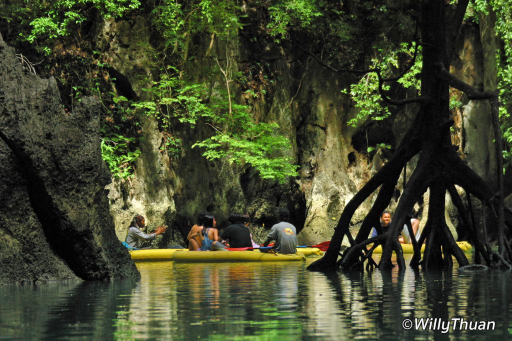 Phang Nga by Sea Canoe by John Gray