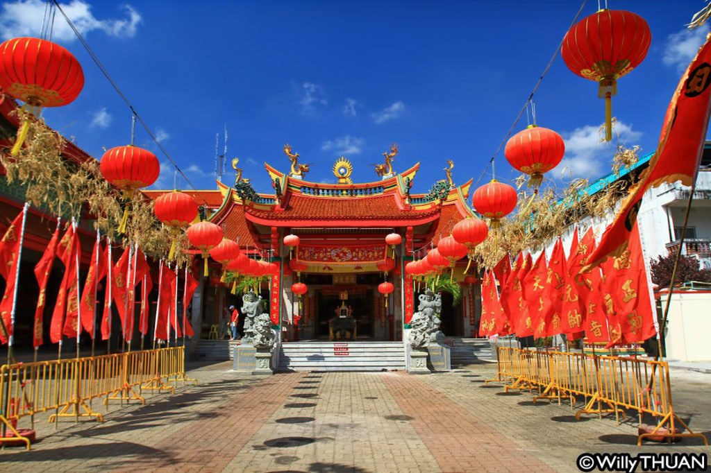 Jui Tuo Shrine in Phuket Town