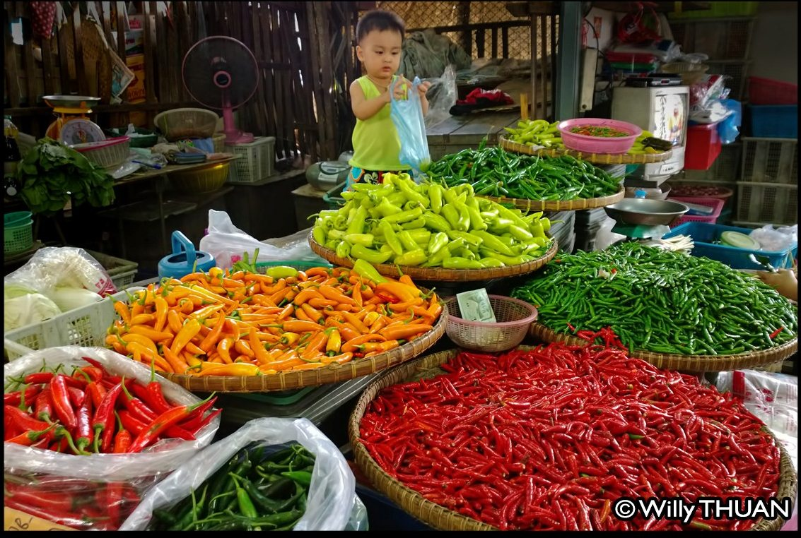 Chilies in Phuket Market