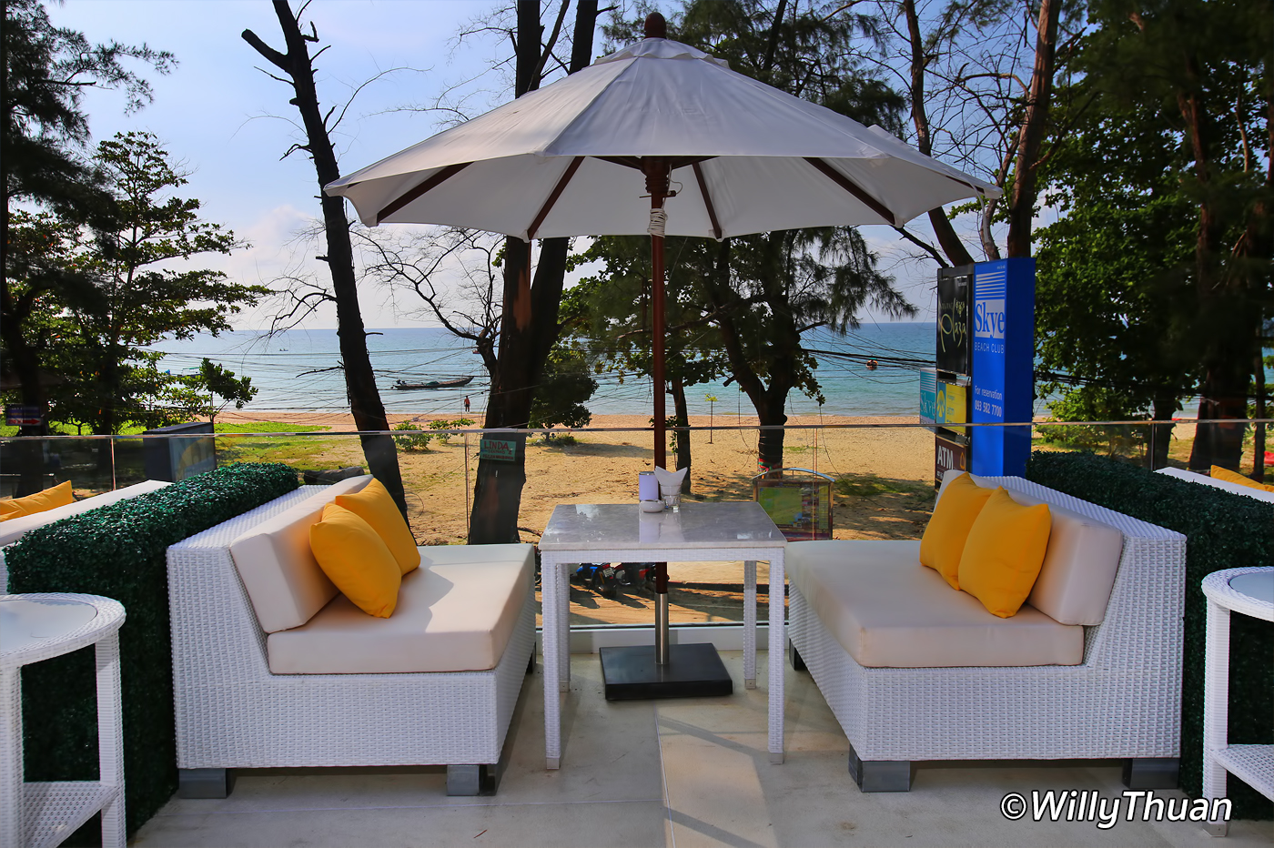 Skye Beach Club Nai Yang Beach