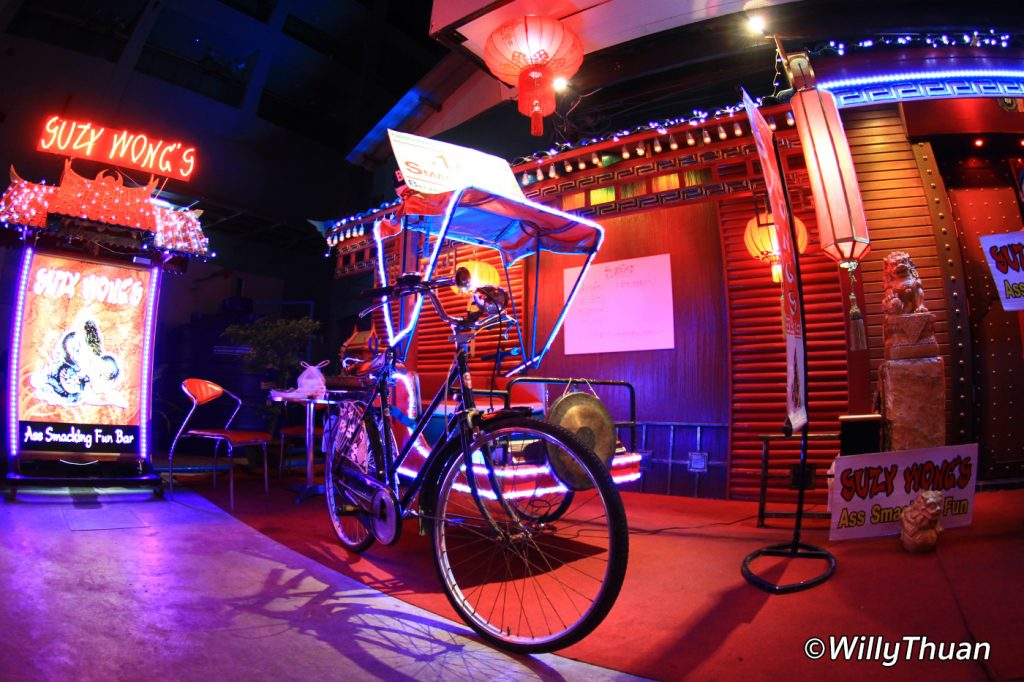 The famous Suzy Wong's Go Go bar on soi Bangla in Patong Beach