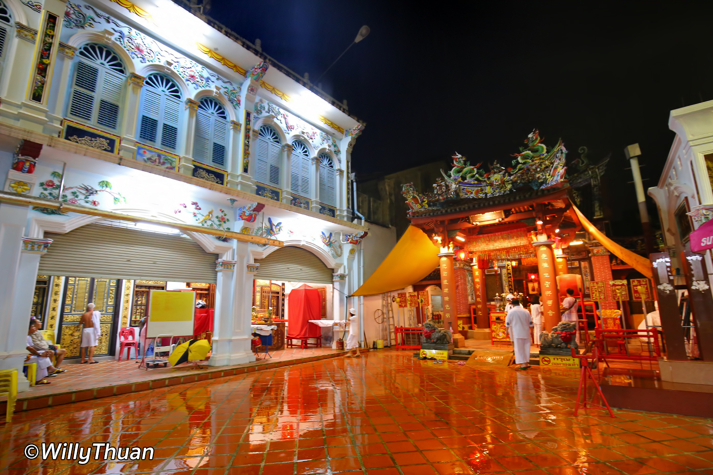 Shrine of the Serene Light in Phuket Town