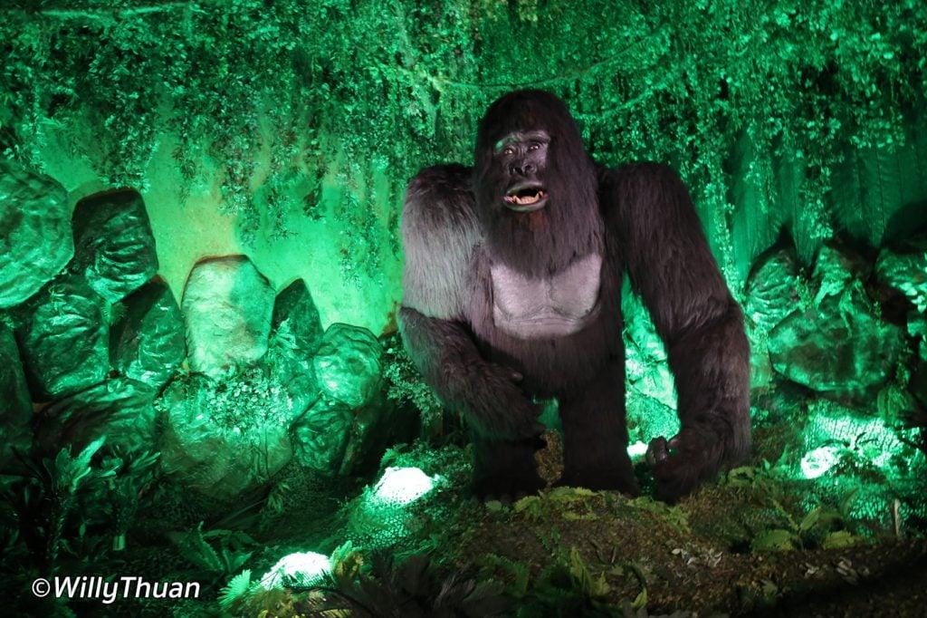 King Kong at Phuket Ghostinium