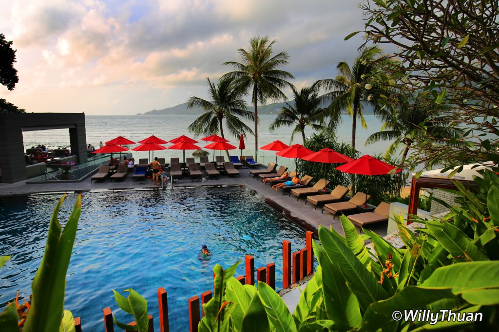 One of the 3 pools at Amari Phuket