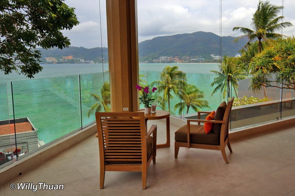 The view from the lobby at Amari Phuket