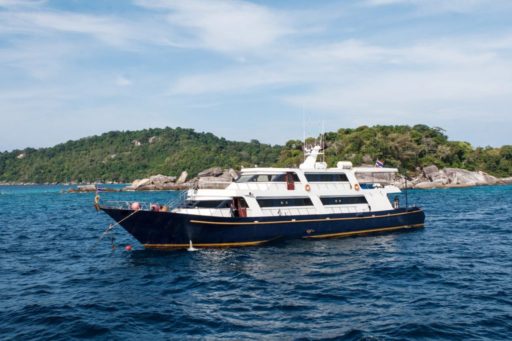 Liveaboard Diving near Phuket