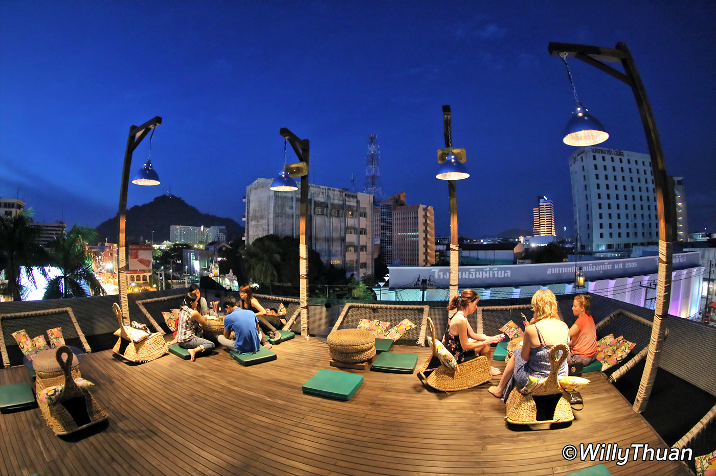 Quip Sky Bar Rooftop in Phuket Town