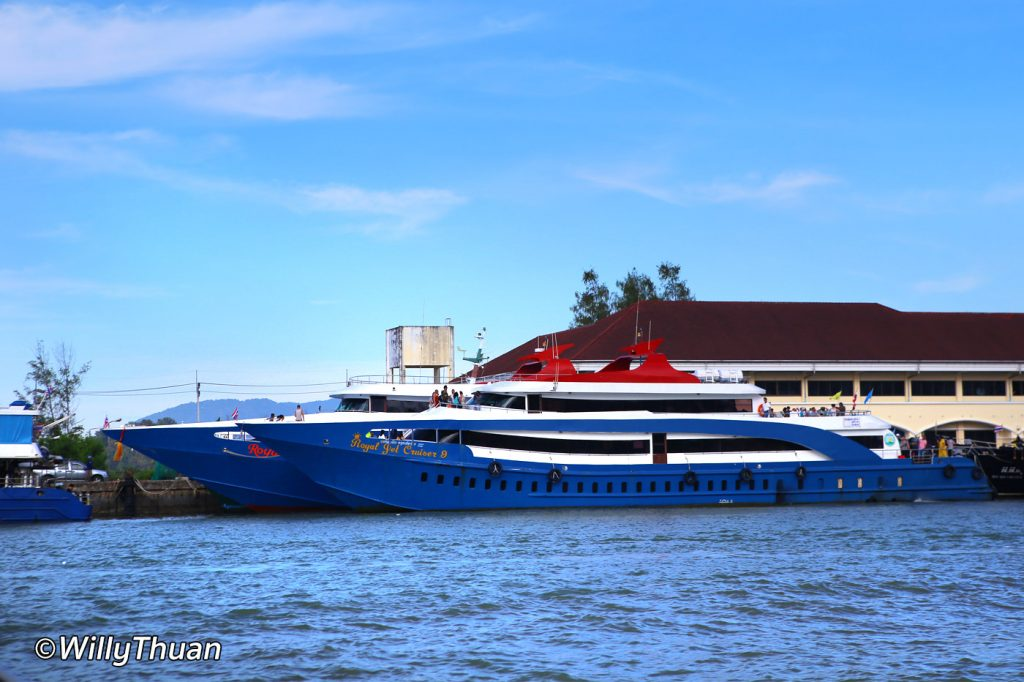 Ferry to Phi Phi Island