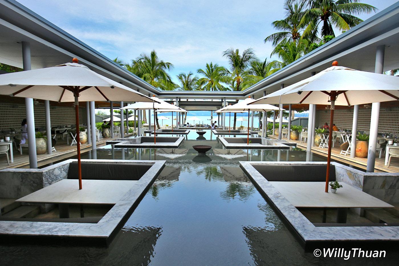 Palm Seaside Restaurant Phuket on Bangtao Beach