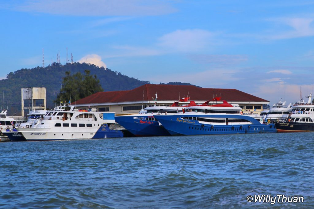 Ferry from Phuket to Phi Phi Islands
