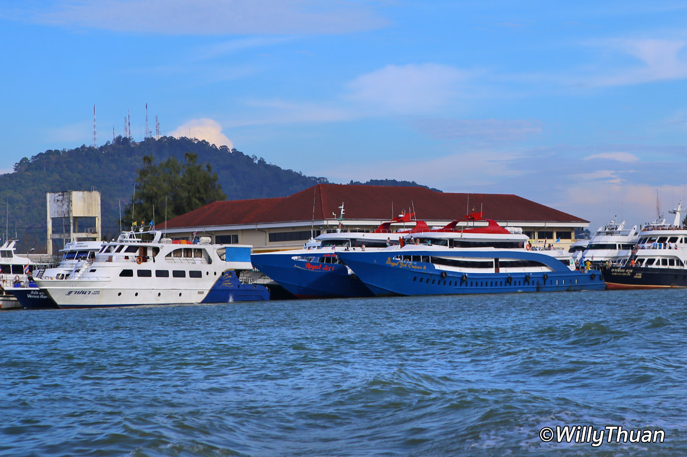 Ferry from Phuket to Phi Phi Island