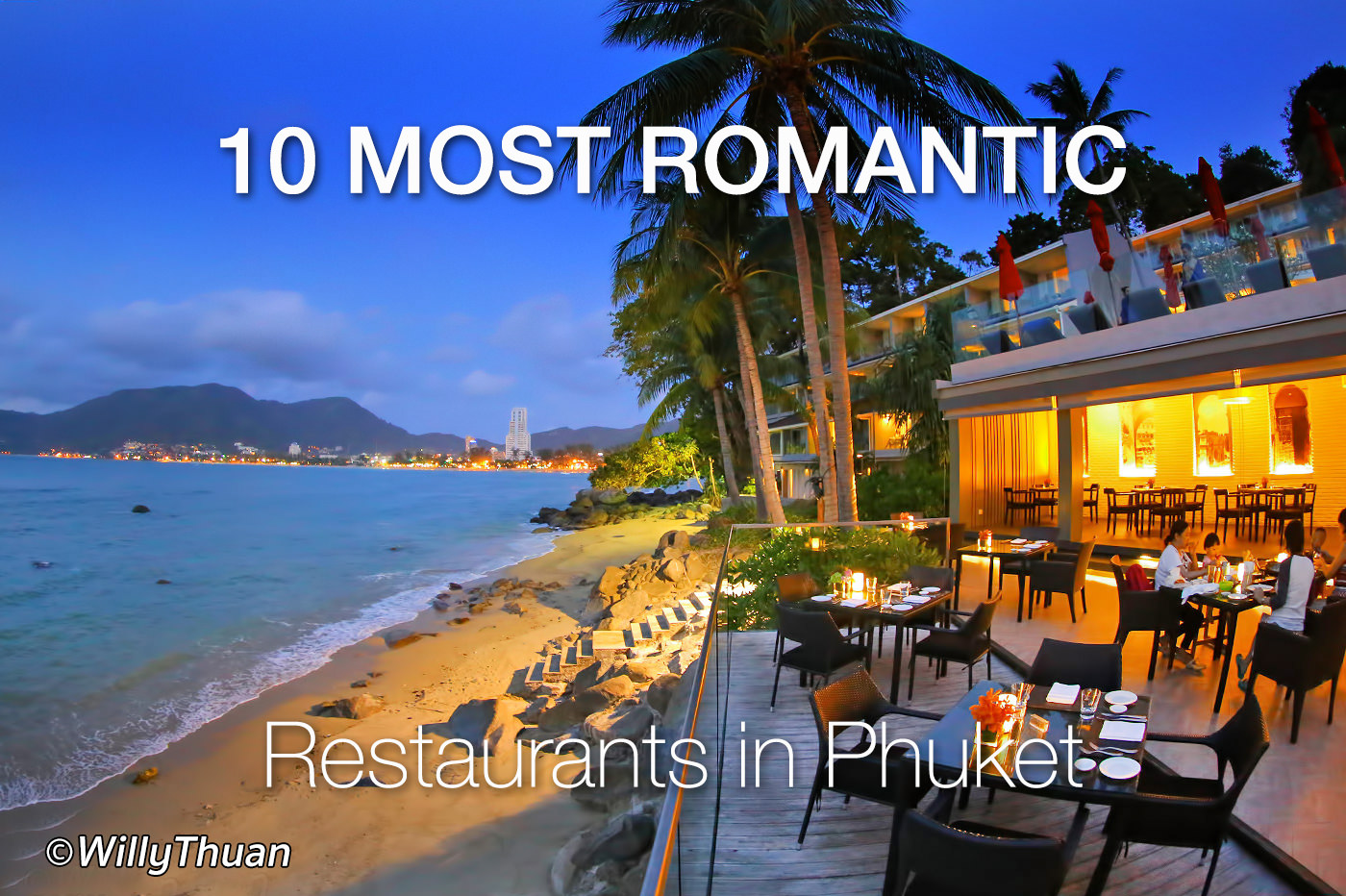 10 Great Romantic Restaurants in Phuket