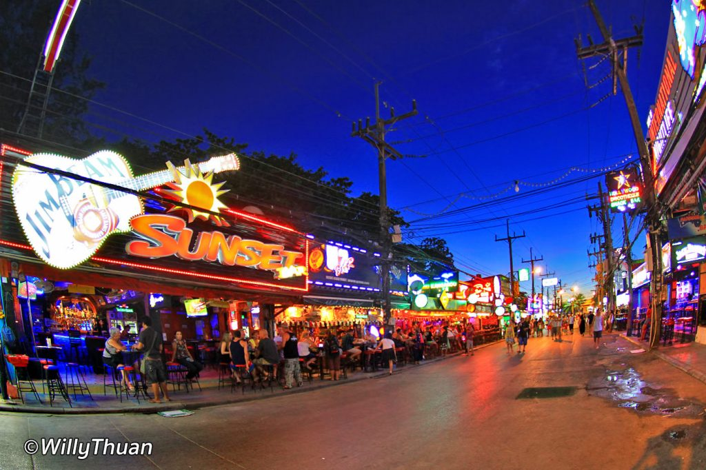 Bangla Road in Patong Beach, Where to Go at Night in ...