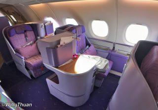 Business Class on Thai Airways