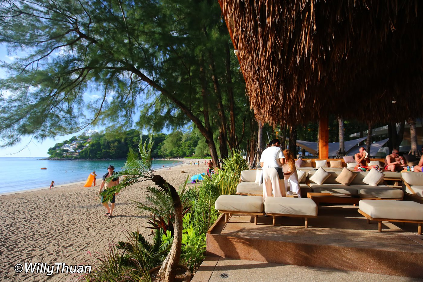 Cafe Del Mar Phuket Beach Club in Kamala beach