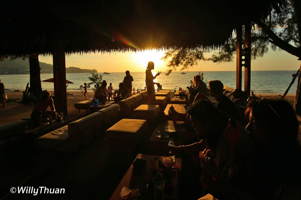 Sunset at Cafe Del Mar Phuket