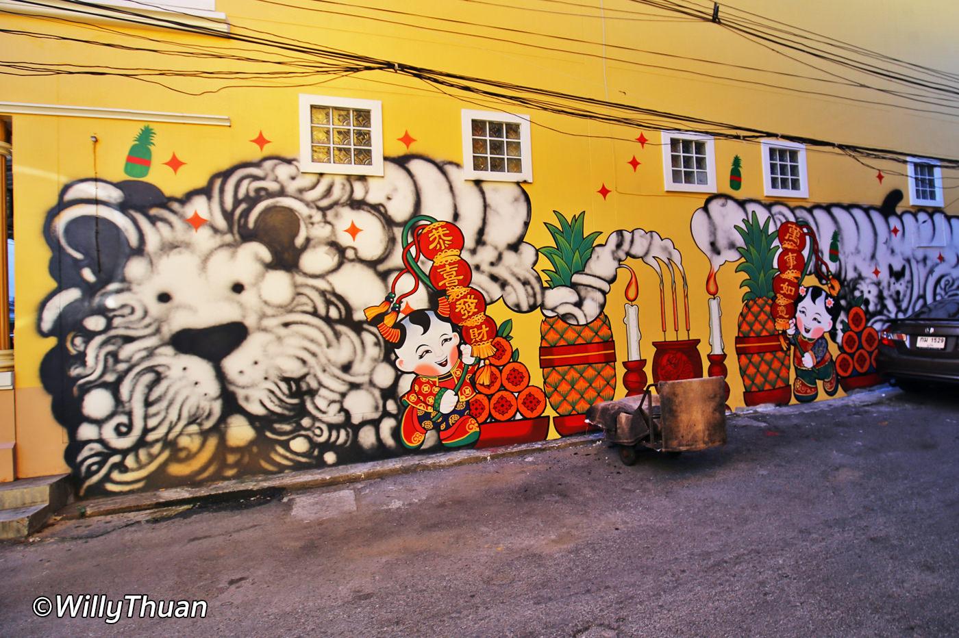 Phuket Street Art – Mural Paintings inPhuket Town