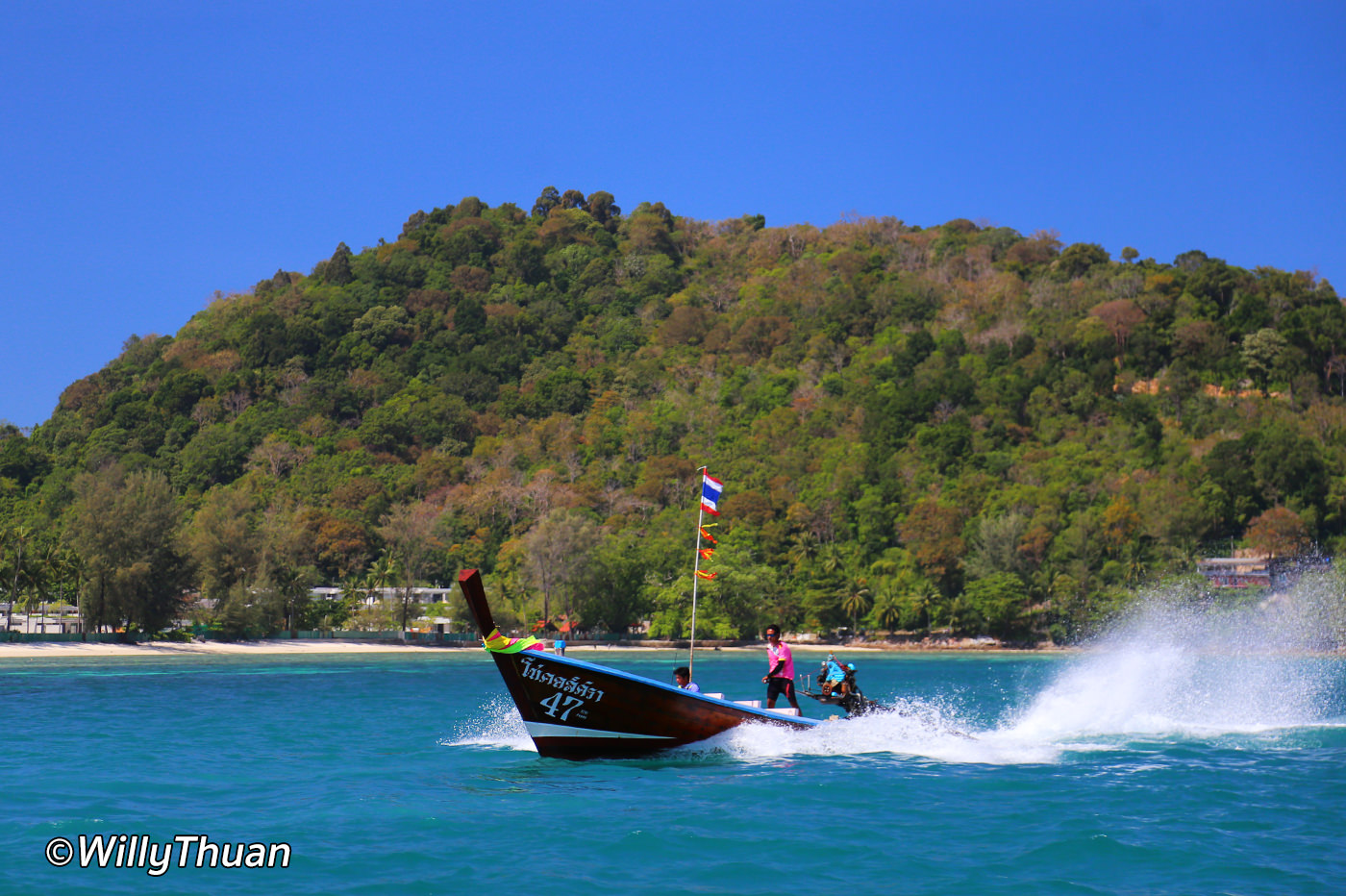 Lontail boat to Freedom Beach