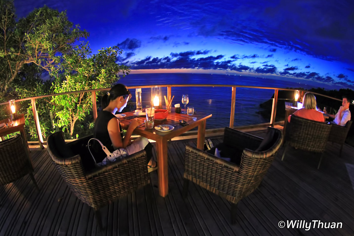 Paresa Resort Moonlight Dinner
