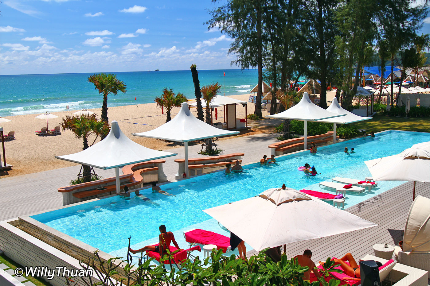 Xana Beach Club at Angasana Resort Phuket