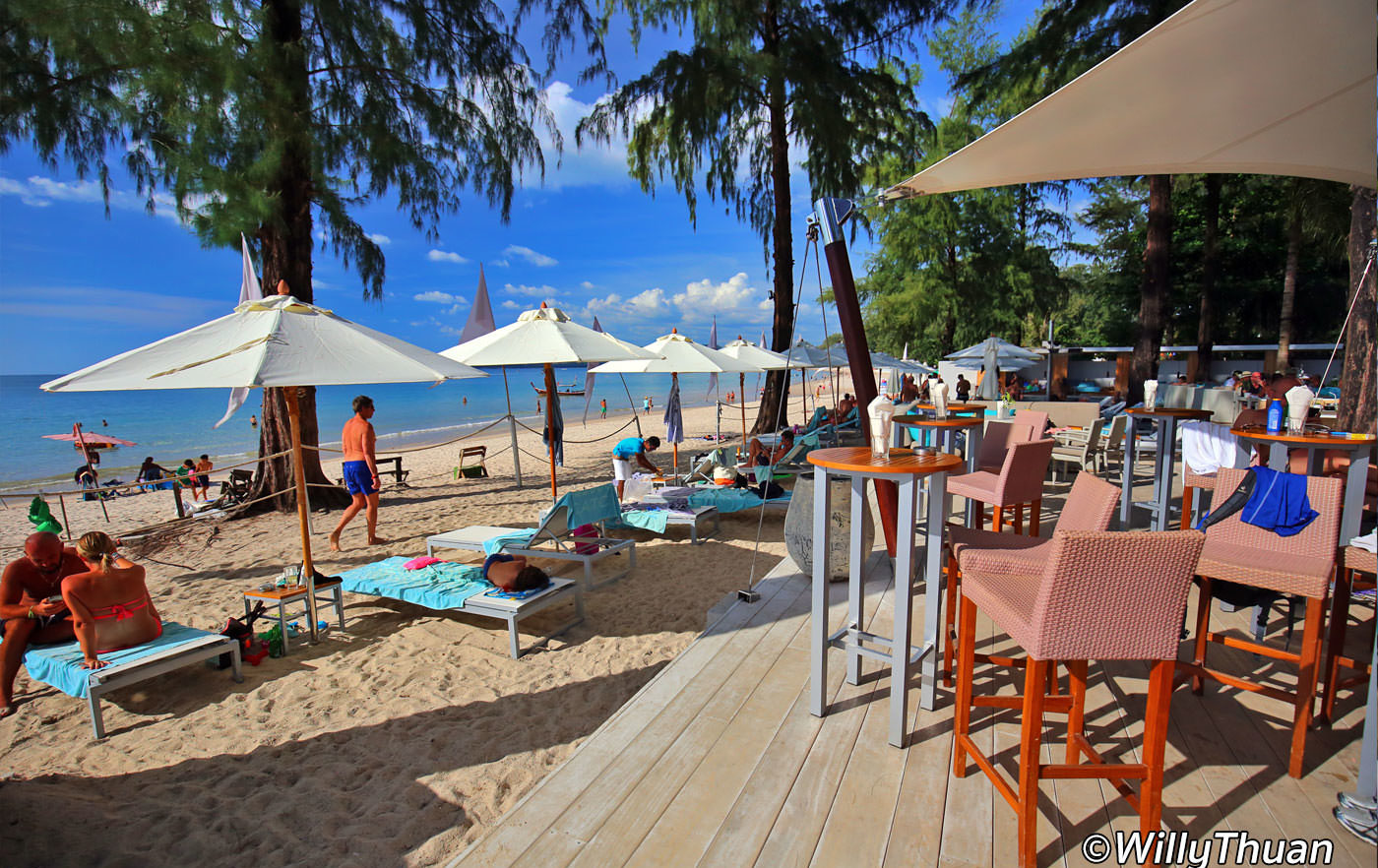 Catch Beach Club in Phuket