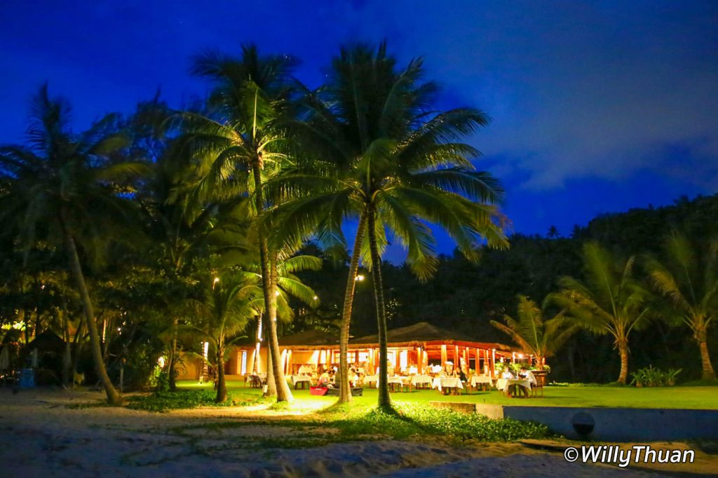 Beach Restaurant at The Surin Phuket