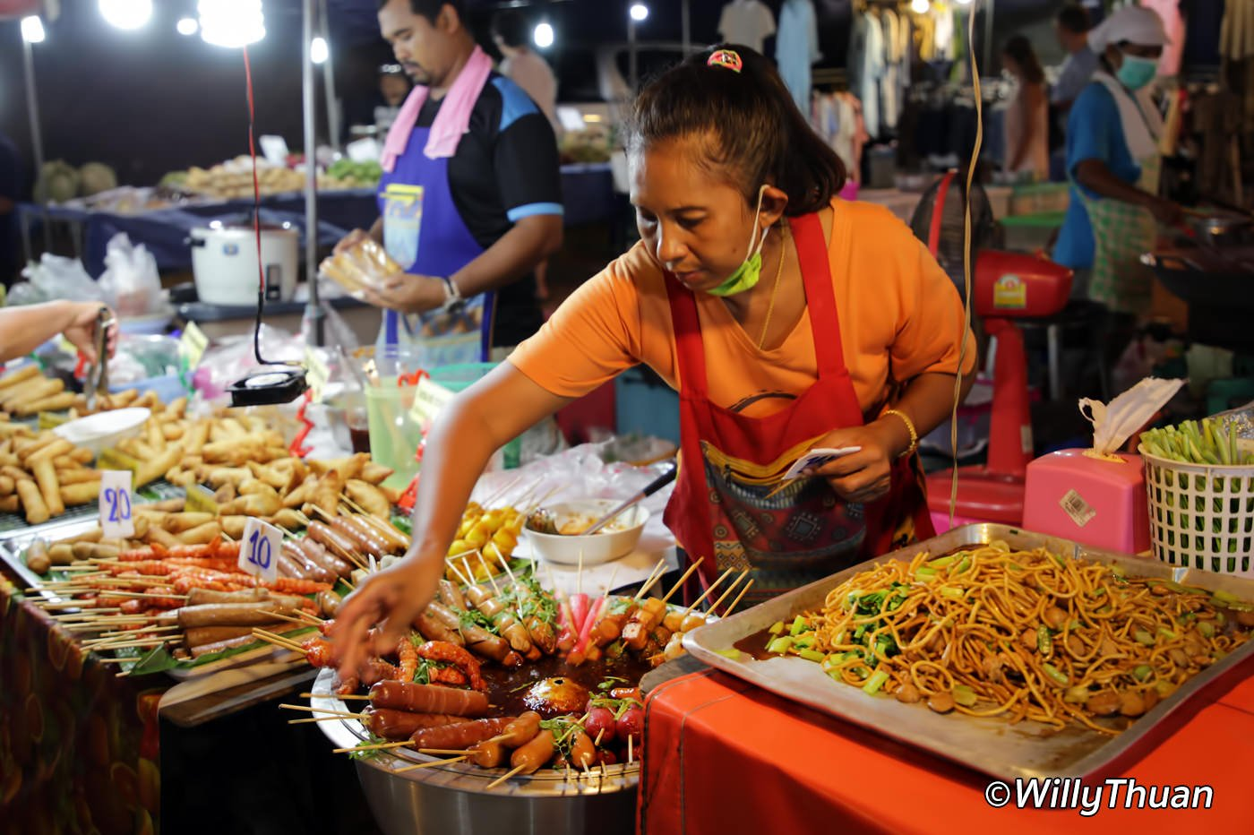 Local Thai Food at Karon Temple Fair