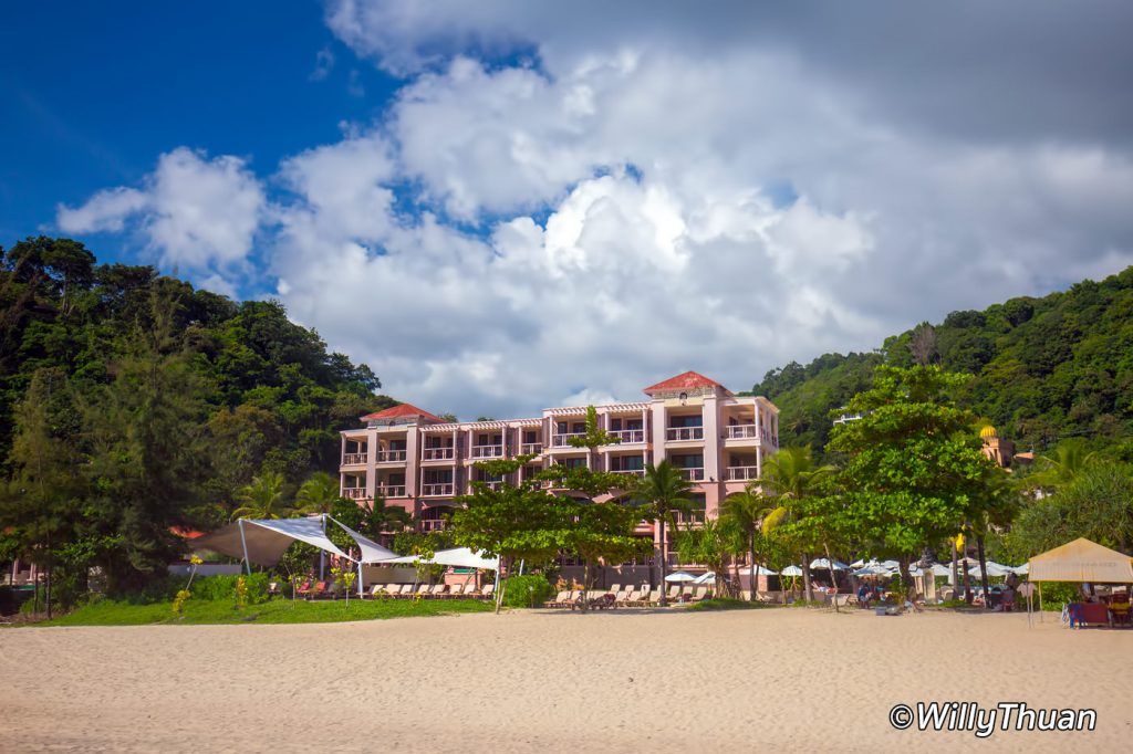 Centara Grand Beach Resort Phuket right on the sand of Karon Beach