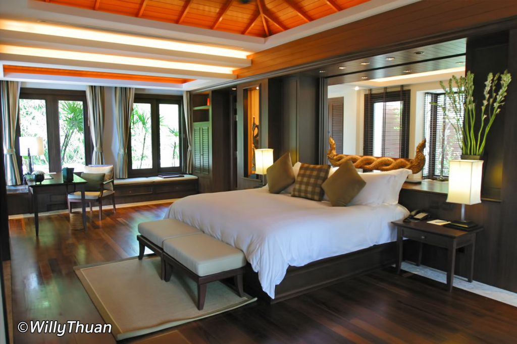 Trisara Phuket Pool Villa Bedroom