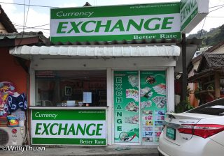 Changing Money in Phuket