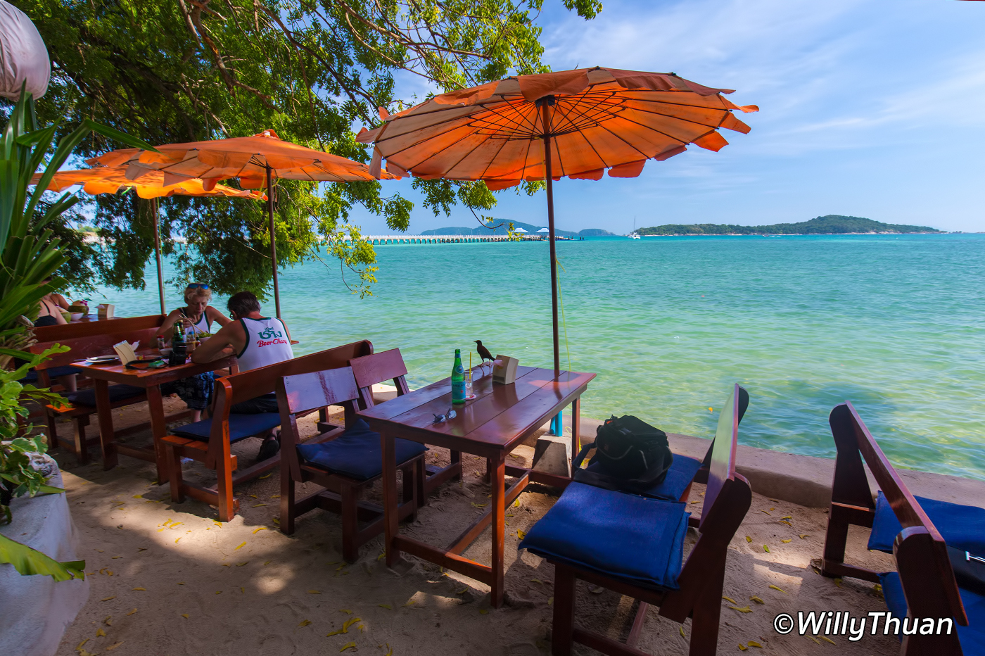 Nikita's Beach Restaurant Phuket in Rawai Beach