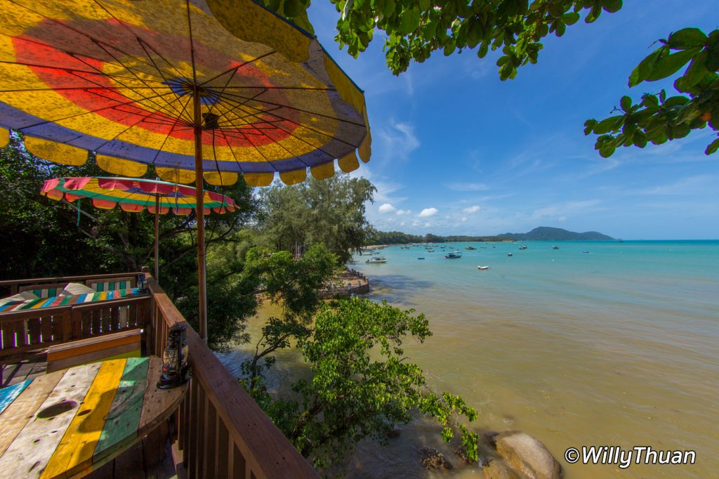 The view from Rawai View Cafe