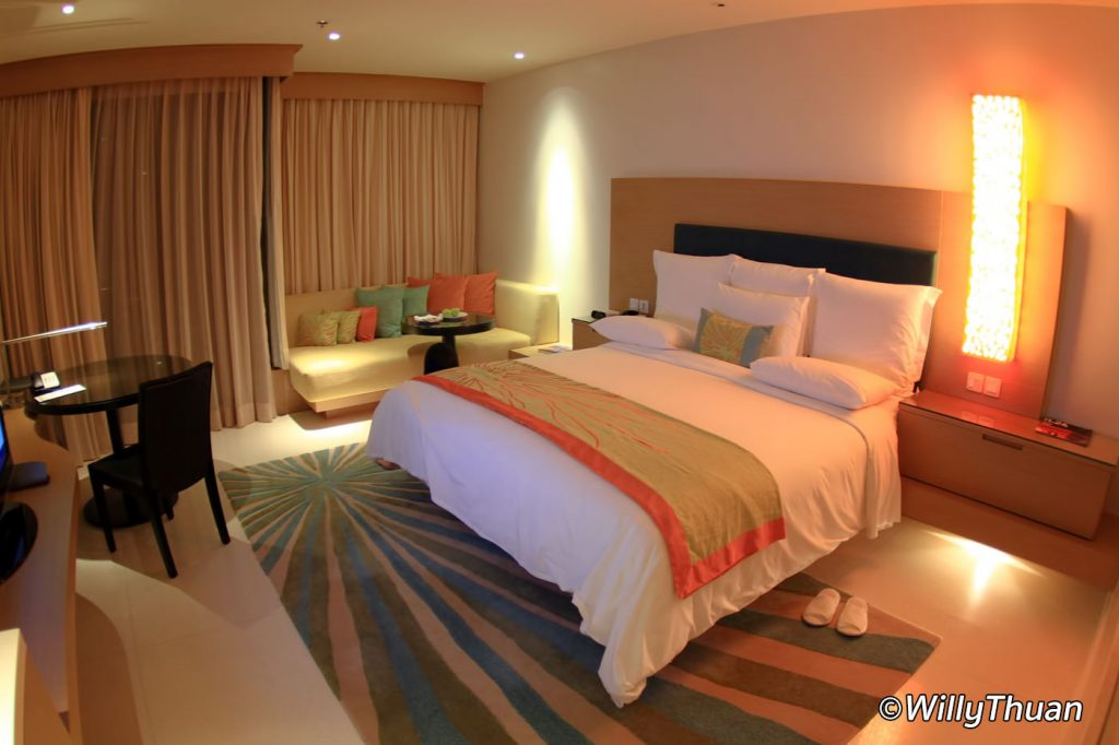 The rooms at Renaissance Phuket Resort