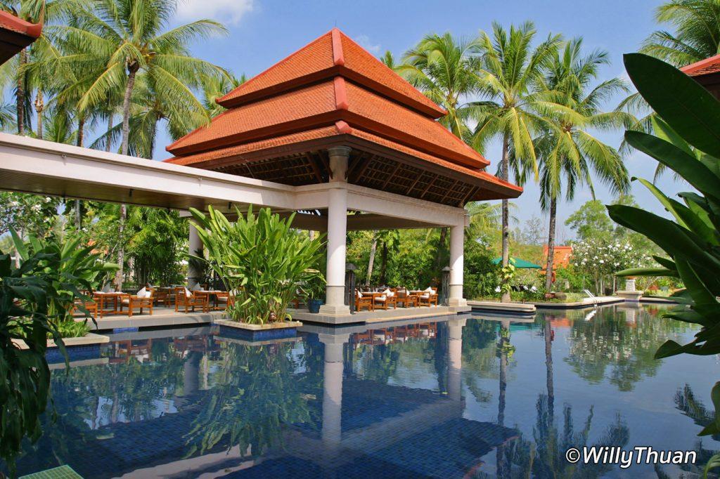 Banyan Tree Spa on Bang Tao Beach