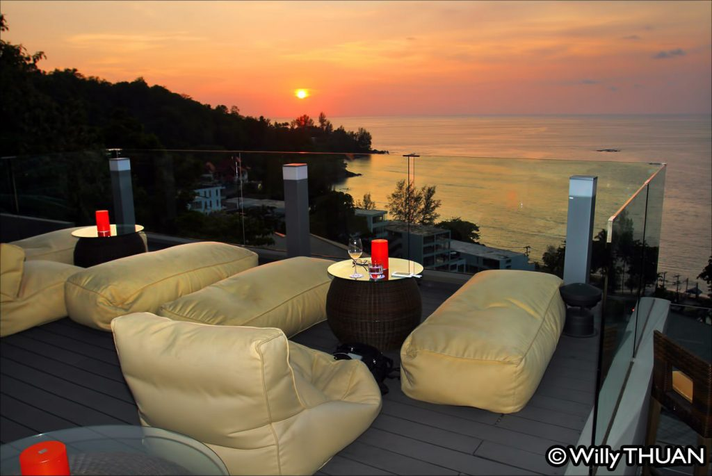 Sunset Bar at Hyatt Regency Kamala Beach