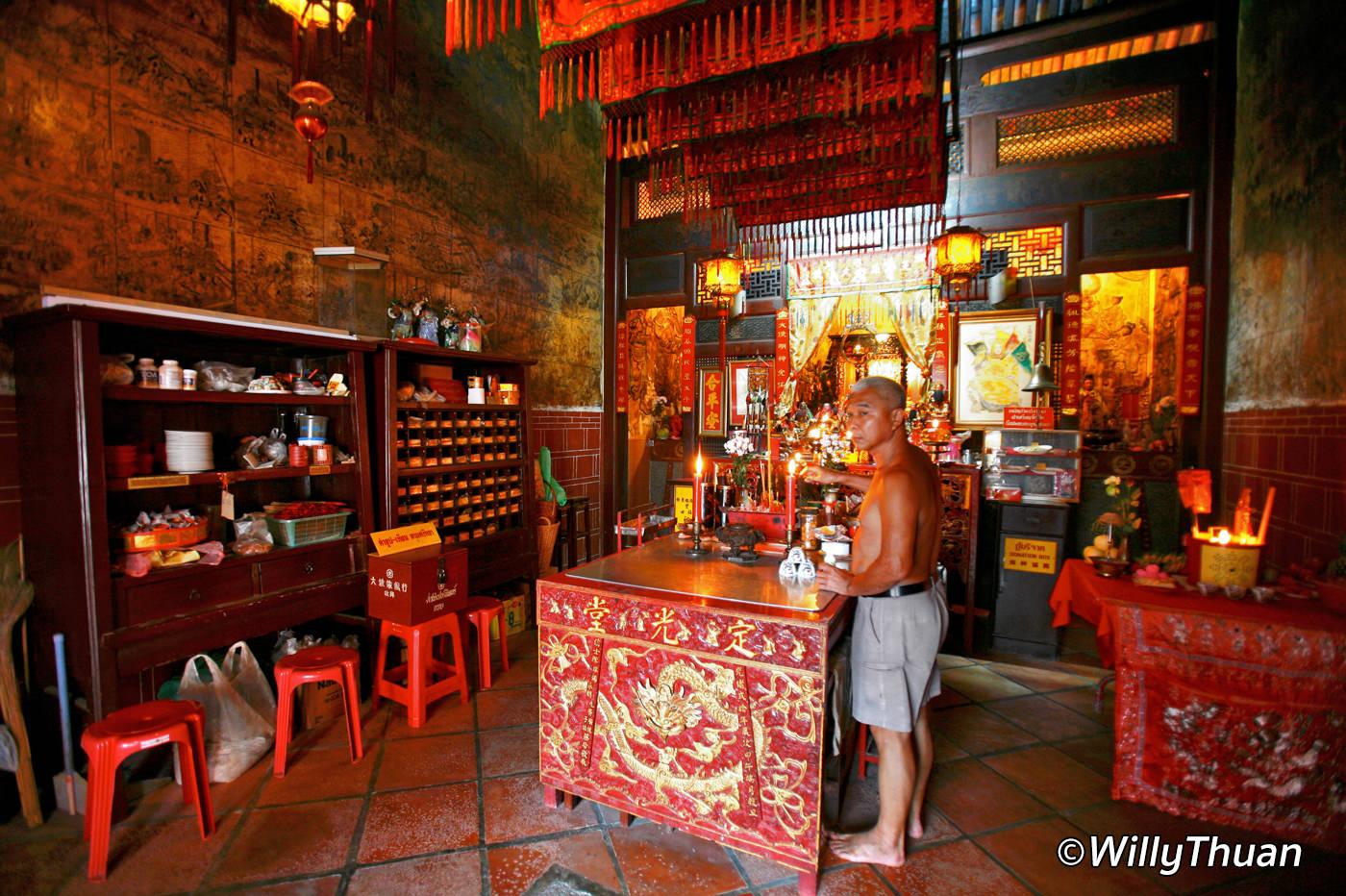 Shrine of The Serene Light Phuket Twon