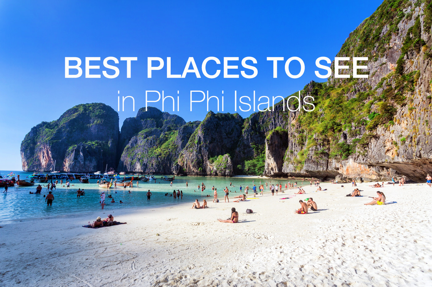 6 Best Places to See in Phi Phi Islands –  What to Do in Phi Phi