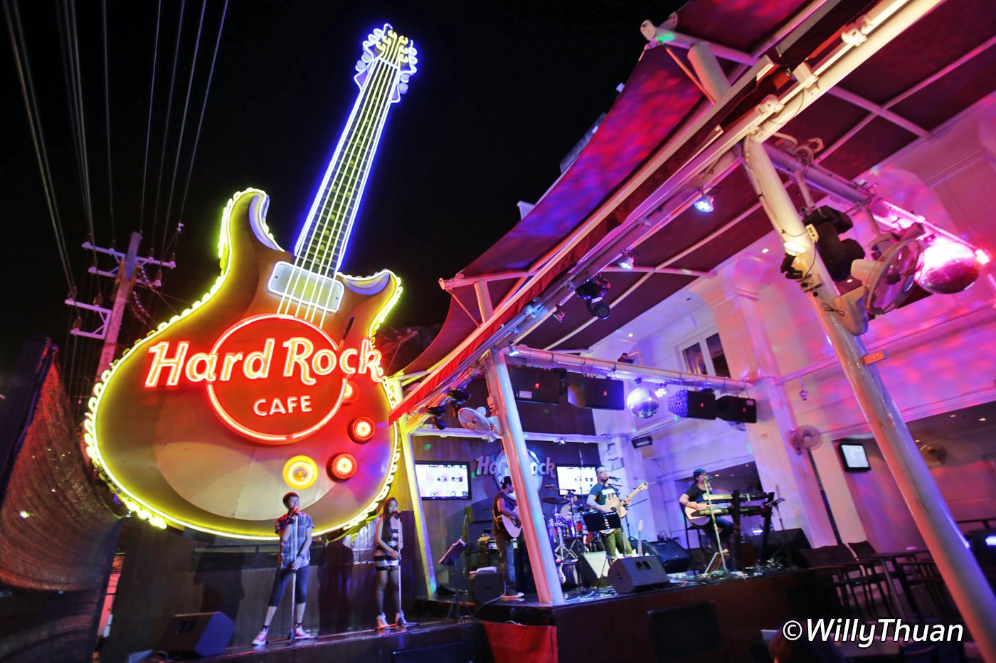 Hard Rock Cafe Patong Beach