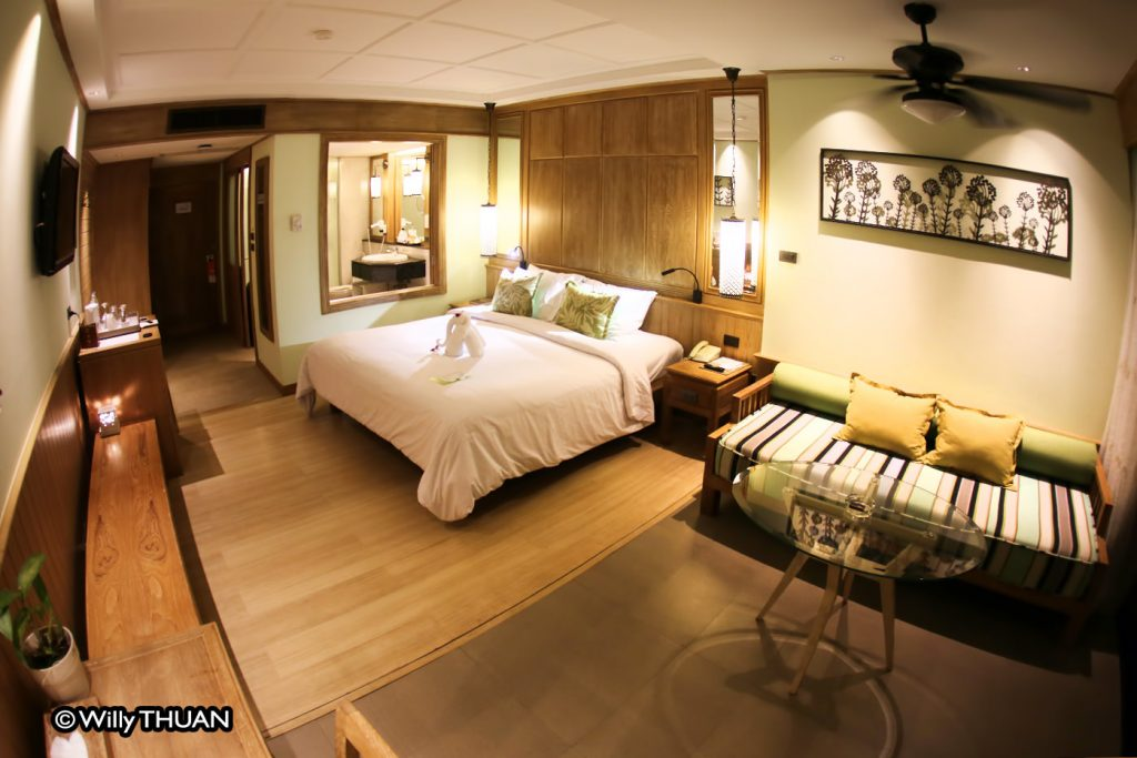 The rooms at Katathani Phuket