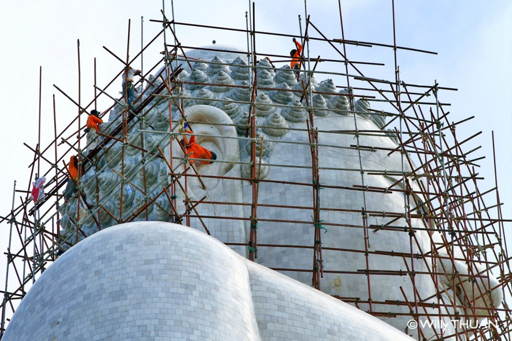 The Construction of the Phuket Big Buddha