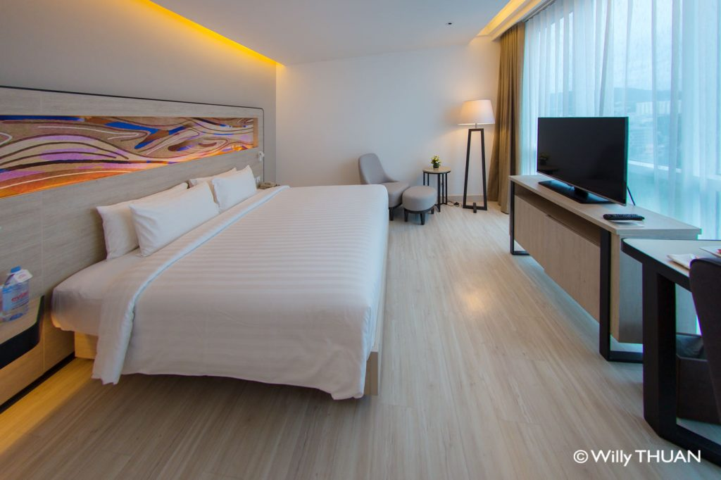 A room at Novotel Phuket Phokeethra