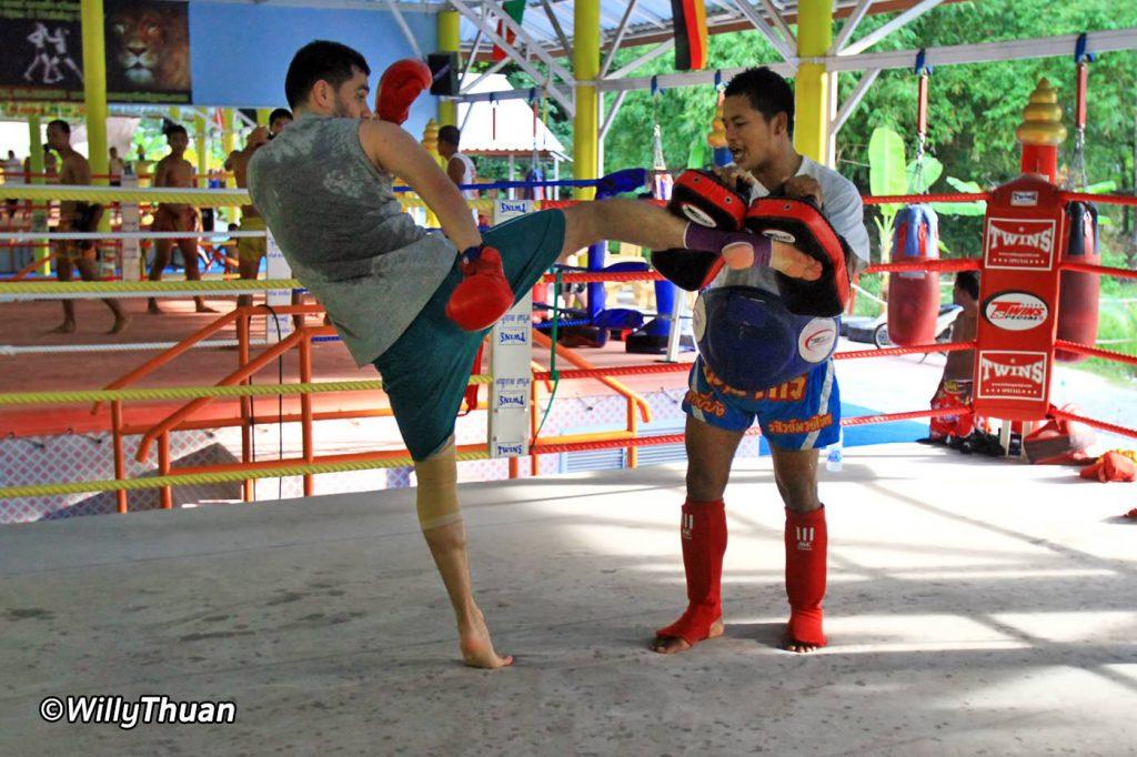 Muay Thai Training Camp in Phuket