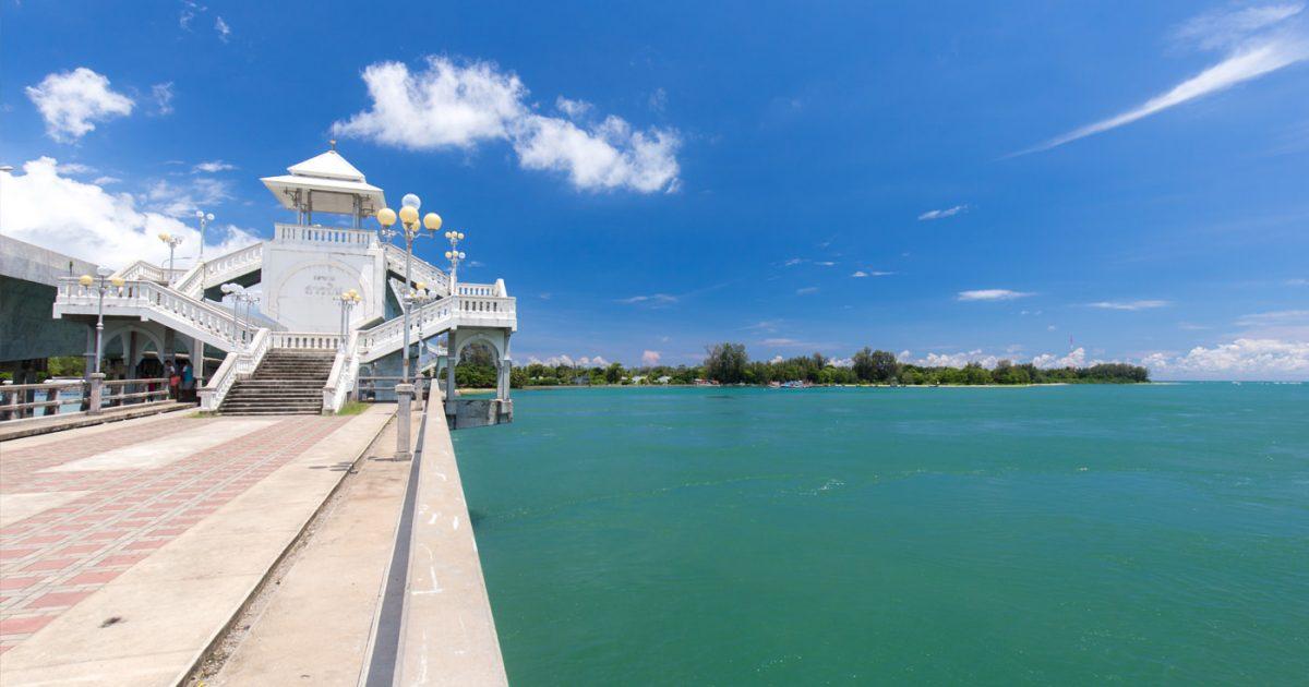 The Sarasin Bridge in Phuket