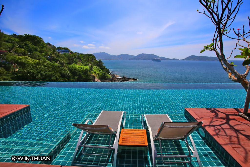 U Zenmaya Phuket infinity pool