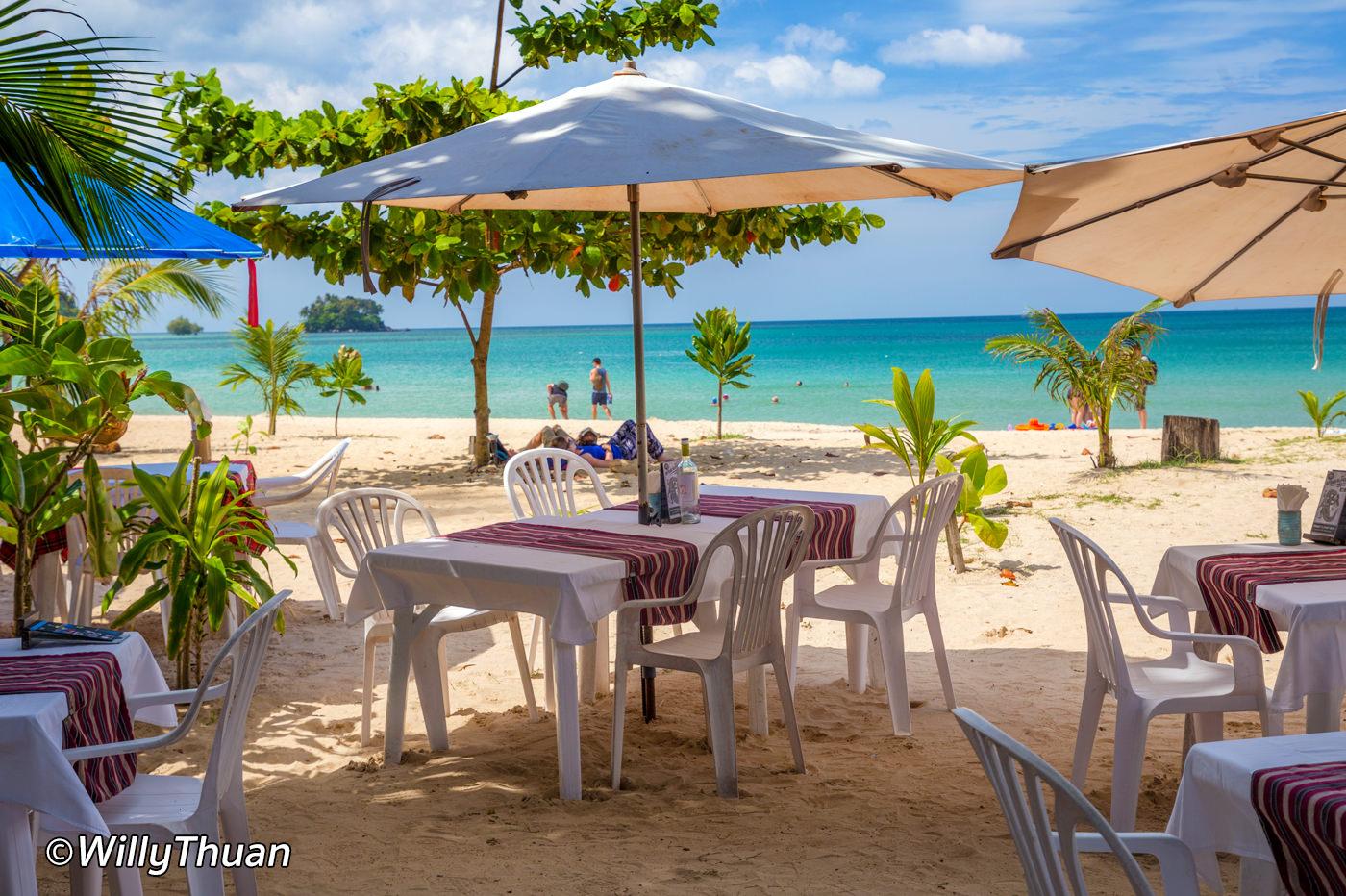 Sea Almond Restaurant on Nai Yang Beach