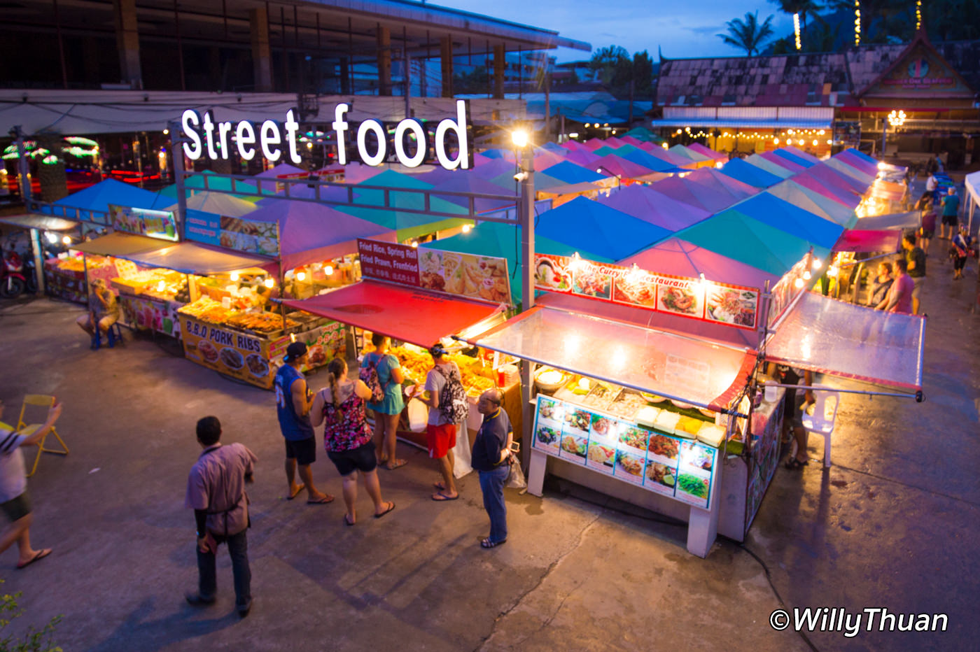 Bangla Street Food in Patong Beach