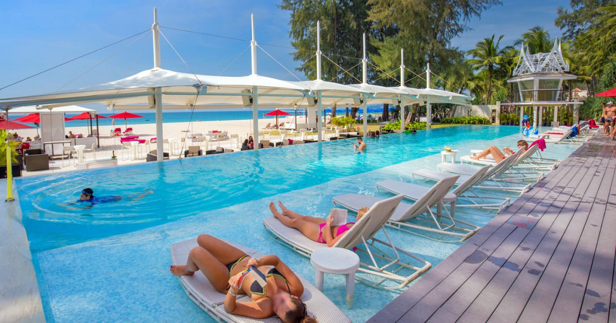 Xana Beach Club in Phuket, Bangtao