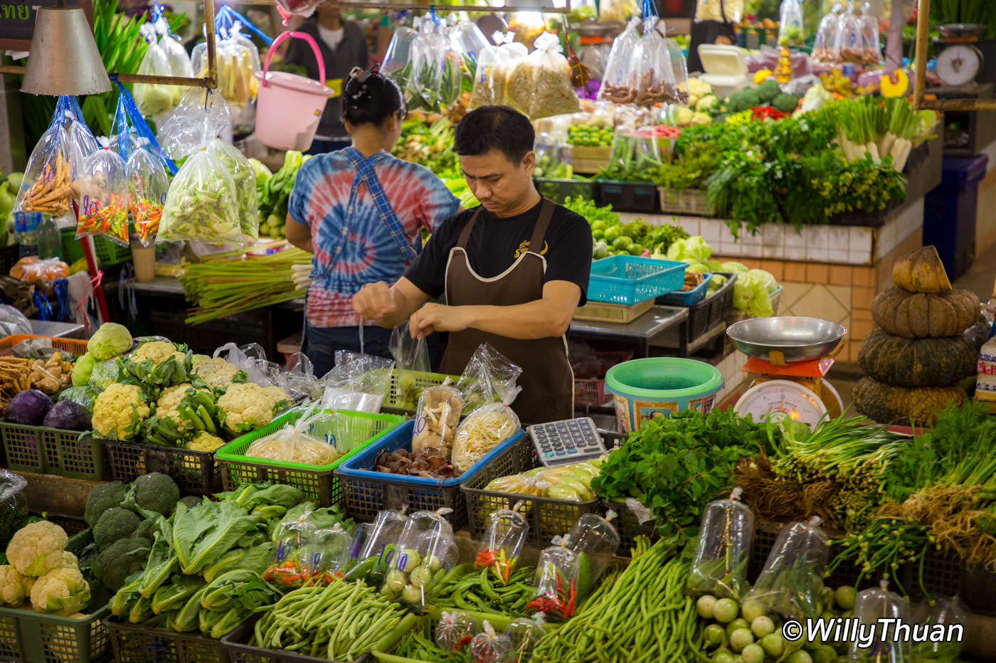 Banzaan Fresh Market in Patong Beach