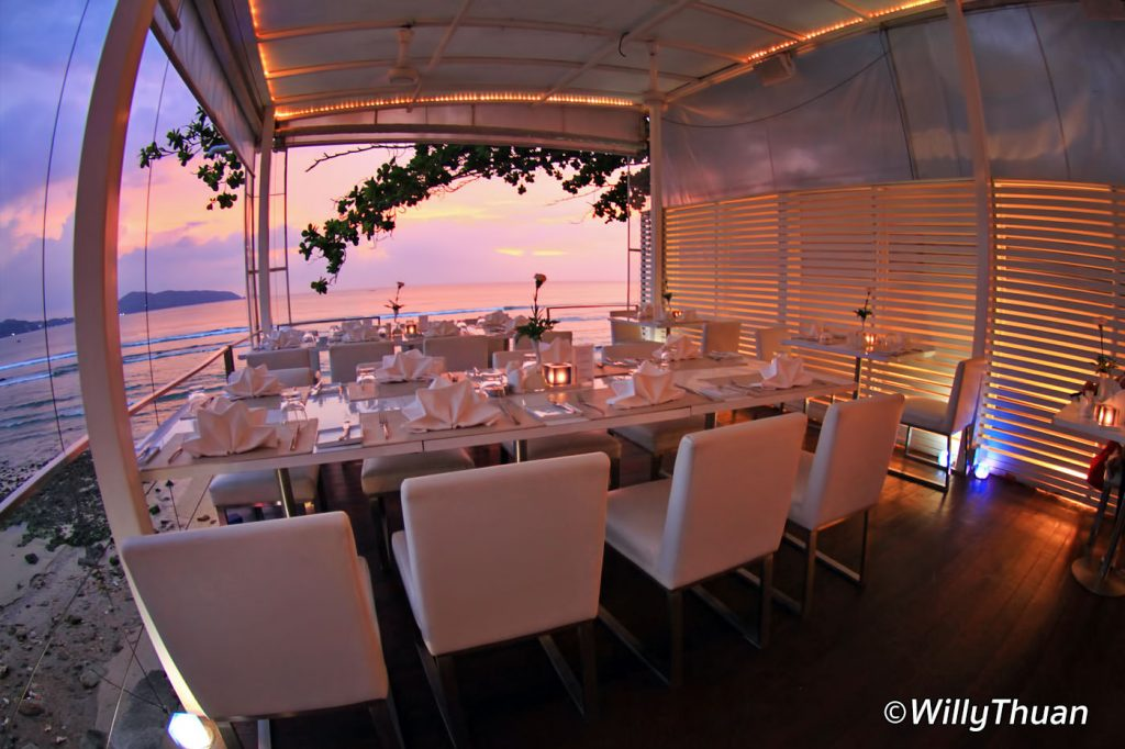 White Box Restaurant Kalim Beach